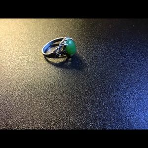 Sterling Jade Ring